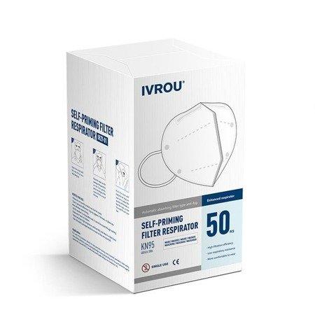 Becker Healthcare IVROU - maseczka ochronna 4-warstwowa z gumką KN95